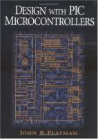 Cover image for Design with PIC microcontrollers