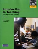 Cover image for Introduction to teaching : becoming a professional