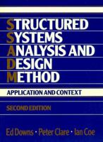 Cover image for Structured systems analysis and design method : application and context