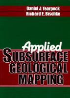 Cover image for Applied subsurface geological mapping