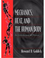 Cover image for Mechanics, heat, and the human body
