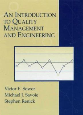 Cover image for An introduction to quality management and engineering : based on the American Society for Quality's certified quality engineer body of knowledge