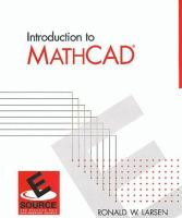 Cover image for Introduction to MathCAD