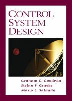 Cover image for Control system design