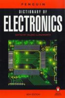 Cover image for The Penguin dictionary of electronics