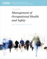 Cover image for Management of occupational health and safety