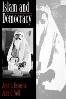 Cover image for Islam and democracy