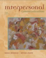 Cover image for Interpersonal communication