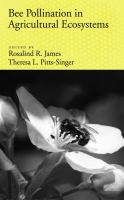 Cover image for Bee pollination in agricultural ecosystems