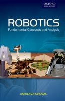 Cover image for Robotics : fundamental concepts and analysis