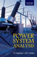 Cover image for Power system analysis