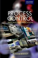 Cover image for Process control : principles and applications