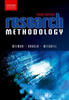 Cover image for Research methodology