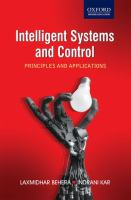 Cover image for Intelligent systems and control principles and applications