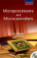 Cover image for Microprocessors and microcontrollers