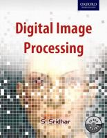 Cover image for Digital image processing