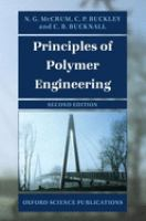 Cover image for Principles of polymer engineering