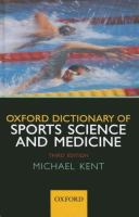 Cover image for The Oxford dictionary of sports science & medicine