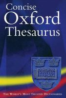 Cover image for Concise oxford thesaurus