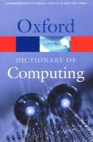 Cover image for A Dictionary of computing
