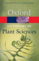 Cover image for A dictionary of plant sciences
