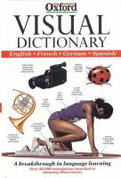 Cover image for Visual dictionary