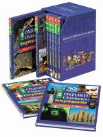 Cover image for Oxford children's encyclopedia