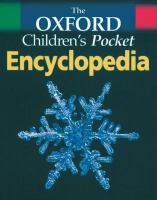 Cover image for The Oxford children's pocket encyclopedia