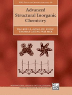 Cover image for Advanced structural inorganic chemistry