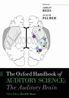 Cover image for The auditory brain