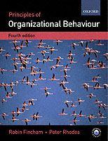 Cover image for Principles of organizational behaviour