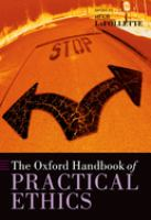 Cover image for The oxford handbook of practical ethics