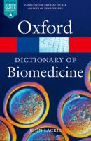 Cover image for A dictionary of biomedicine
