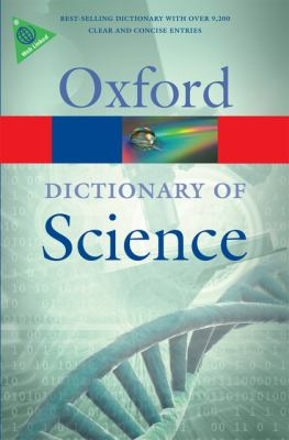 Cover image for A dictionary of science
