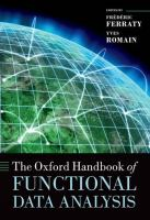 Cover image for The Oxford handbook of functional data analysis