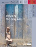 Cover image for Reaching the marginalized