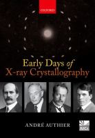 Cover image for Early days of X-ray crystallography