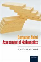 Cover image for Computer aided assessment of mathematics