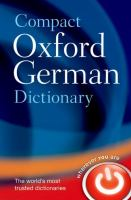 Cover image for Compact Oxford German Dictionary