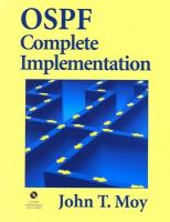 Cover image for OSPF complete implementation