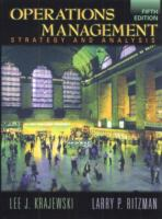 Cover image for Operations management : strategy and analysis