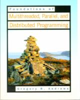 Cover image for Foundations of multithreaded, parallel and distributed programming