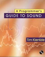 Cover image for A programmer's guide to sound