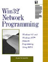 Cover image for Win32 network programming : Windows 95 and Windows NT network programming using MFC
