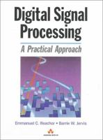 Cover image for Digital signal processing : a practical approach