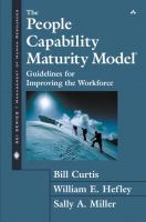 Cover image for The people capability maturity model : guidelines for improving the workforce