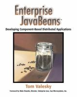 Cover image for Enterprise JavaBeans : developing component-based distributed applications