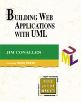 Cover image for Building web applications with UML