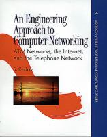 Cover image for An engineering approach to computer networking : ATM networks, the internet, and the telephone network