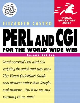 Cover image for PERL and CGI for the world wide web